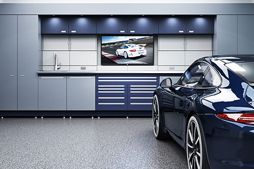 Custom Garage Cabinets For Your Residence